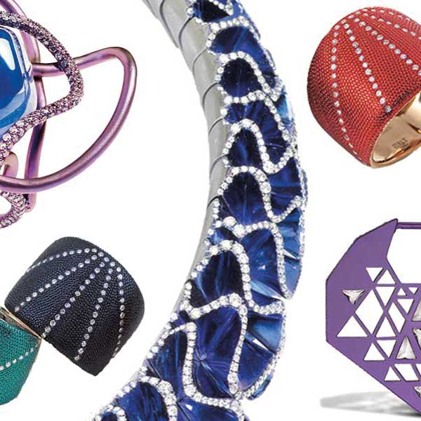 Hyper-chromatic jewellery from cyberspace